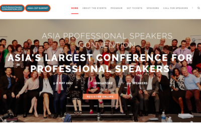 Asia Professional Speakers Convention – or why speakers sometimes sit in the audience.