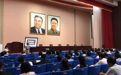 What speaking in North Korea (DPRK) taught me about professional speaking.