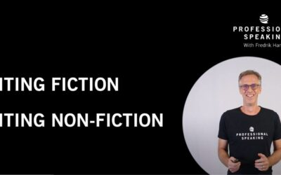 Non-fiction vs Fiction writing. (Professional Speaking. Episode 308)